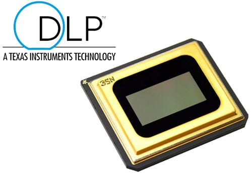 Heimkino-Beamer-DLP-Technologie