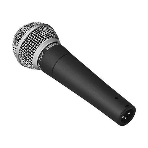 Shure SM58 Sprach- und Gesangsmikrofon inkl. 10m Kabel
